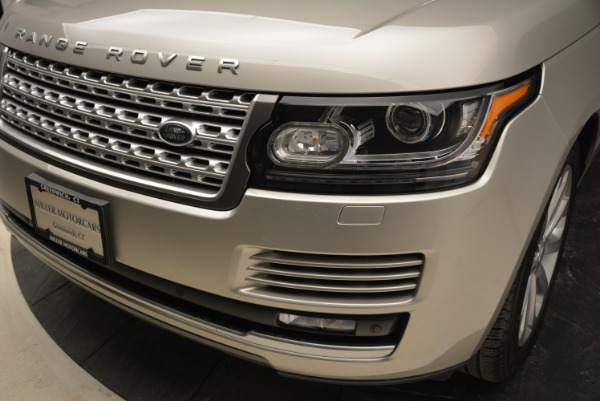 Used 2016 Land Rover Range Rover HSE for sale Sold at Alfa Romeo of Greenwich in Greenwich CT 06830 14