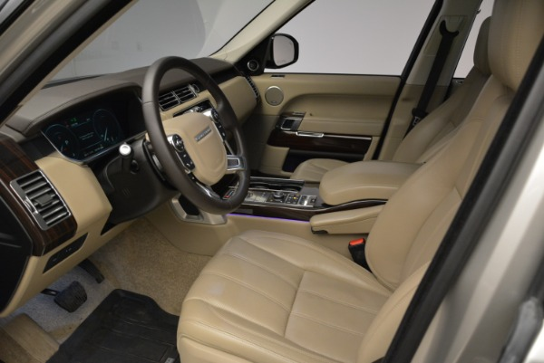 Used 2016 Land Rover Range Rover HSE for sale Sold at Alfa Romeo of Greenwich in Greenwich CT 06830 17