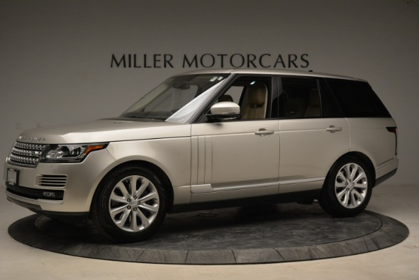 Used 2016 Land Rover Range Rover HSE for sale Sold at Alfa Romeo of Greenwich in Greenwich CT 06830 2