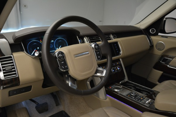 Used 2016 Land Rover Range Rover HSE for sale Sold at Alfa Romeo of Greenwich in Greenwich CT 06830 20