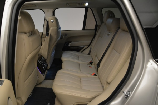 Used 2016 Land Rover Range Rover HSE for sale Sold at Alfa Romeo of Greenwich in Greenwich CT 06830 24