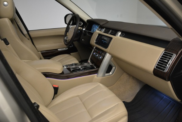 Used 2016 Land Rover Range Rover HSE for sale Sold at Alfa Romeo of Greenwich in Greenwich CT 06830 27