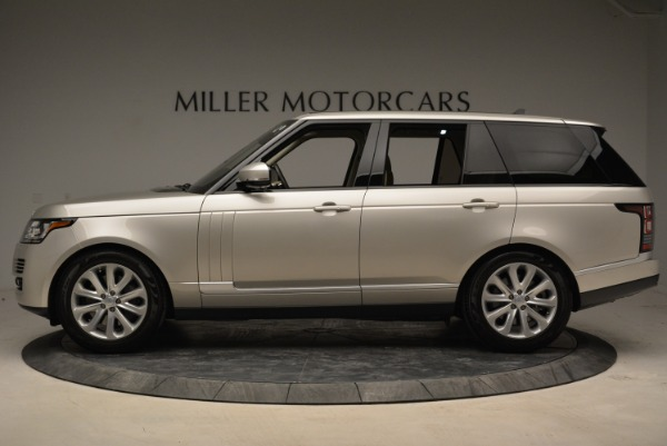 Used 2016 Land Rover Range Rover HSE for sale Sold at Alfa Romeo of Greenwich in Greenwich CT 06830 3