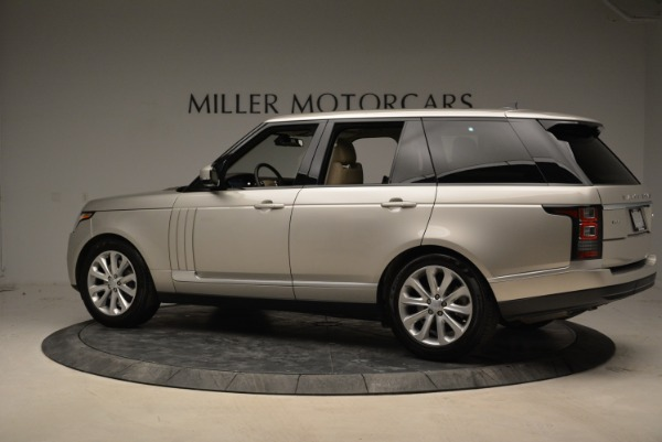 Used 2016 Land Rover Range Rover HSE for sale Sold at Alfa Romeo of Greenwich in Greenwich CT 06830 4