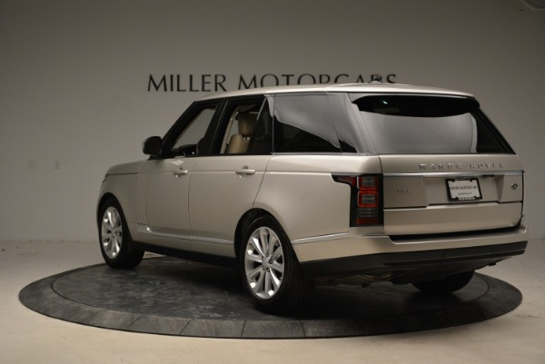 Used 2016 Land Rover Range Rover HSE for sale Sold at Alfa Romeo of Greenwich in Greenwich CT 06830 5
