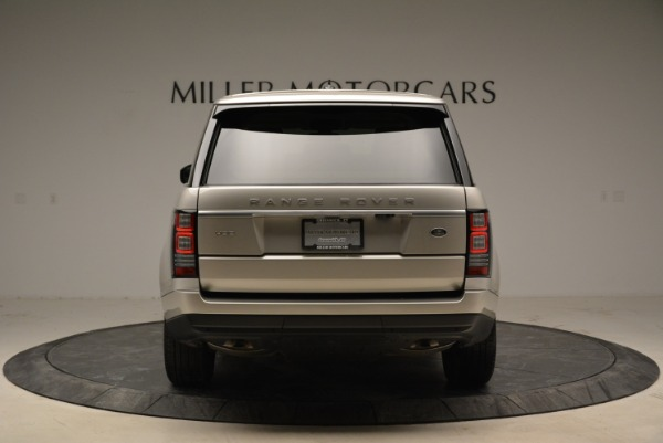 Used 2016 Land Rover Range Rover HSE for sale Sold at Alfa Romeo of Greenwich in Greenwich CT 06830 6
