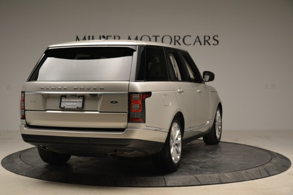 Used 2016 Land Rover Range Rover HSE for sale Sold at Alfa Romeo of Greenwich in Greenwich CT 06830 7