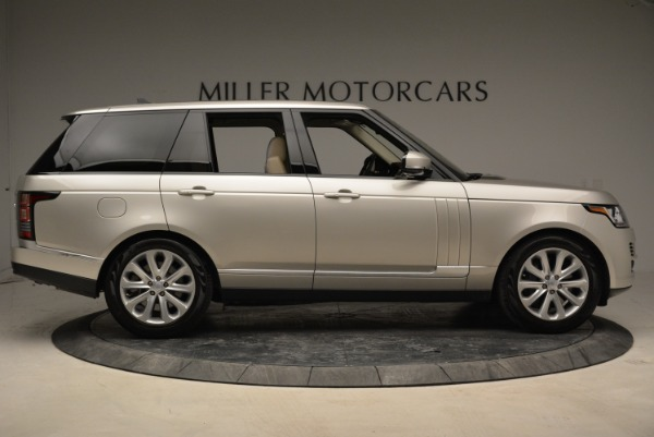 Used 2016 Land Rover Range Rover HSE for sale Sold at Alfa Romeo of Greenwich in Greenwich CT 06830 9