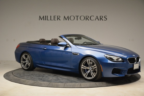 Used 2013 BMW M6 Convertible for sale Sold at Alfa Romeo of Greenwich in Greenwich CT 06830 10