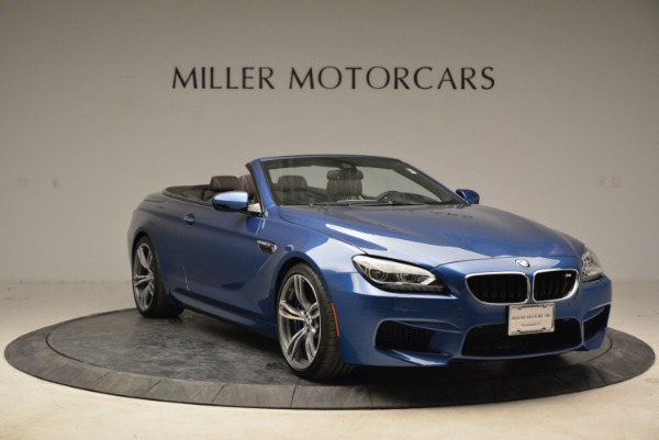 Used 2013 BMW M6 Convertible for sale Sold at Alfa Romeo of Greenwich in Greenwich CT 06830 11