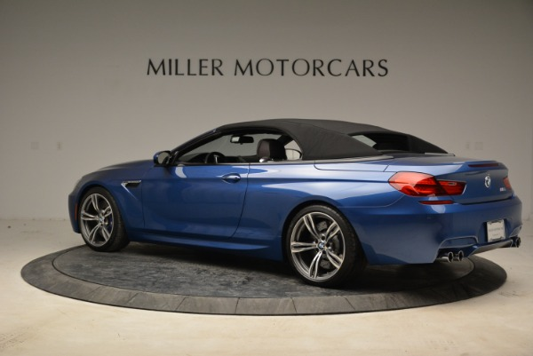Used 2013 BMW M6 Convertible for sale Sold at Alfa Romeo of Greenwich in Greenwich CT 06830 16