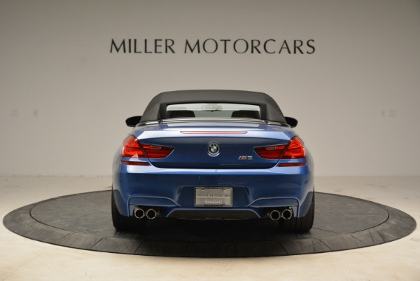 Used 2013 BMW M6 Convertible for sale Sold at Alfa Romeo of Greenwich in Greenwich CT 06830 18
