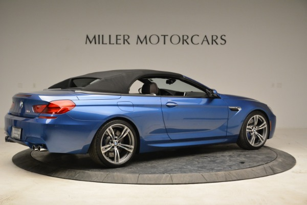 Used 2013 BMW M6 Convertible for sale Sold at Alfa Romeo of Greenwich in Greenwich CT 06830 20