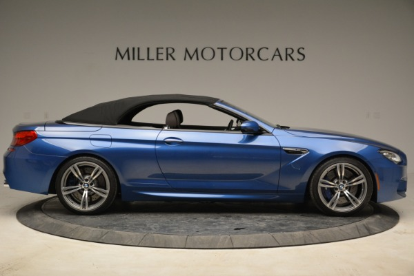 Used 2013 BMW M6 Convertible for sale Sold at Alfa Romeo of Greenwich in Greenwich CT 06830 21