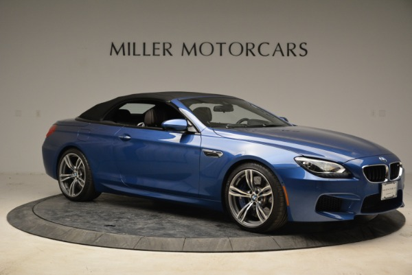 Used 2013 BMW M6 Convertible for sale Sold at Alfa Romeo of Greenwich in Greenwich CT 06830 22