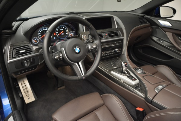 Used 2013 BMW M6 Convertible for sale Sold at Alfa Romeo of Greenwich in Greenwich CT 06830 25