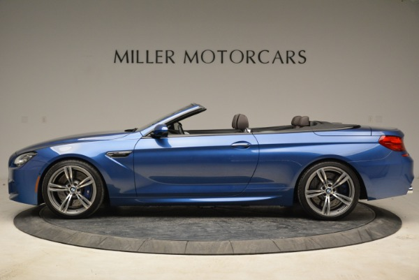 Used 2013 BMW M6 Convertible for sale Sold at Alfa Romeo of Greenwich in Greenwich CT 06830 3