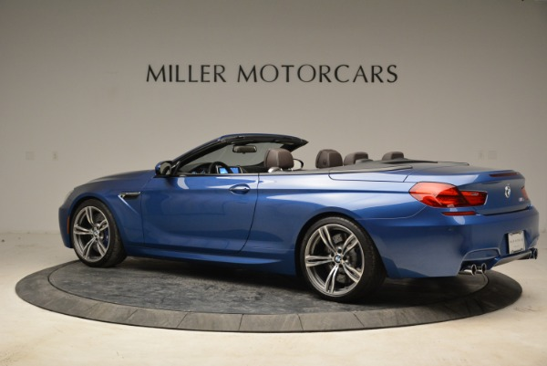 Used 2013 BMW M6 Convertible for sale Sold at Alfa Romeo of Greenwich in Greenwich CT 06830 4