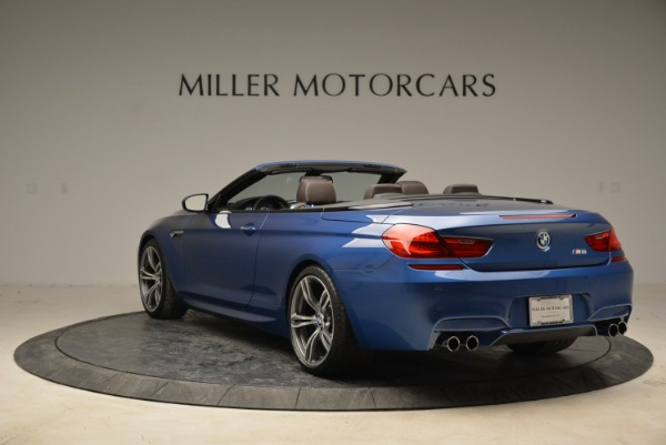 Used 2013 BMW M6 Convertible for sale Sold at Alfa Romeo of Greenwich in Greenwich CT 06830 5