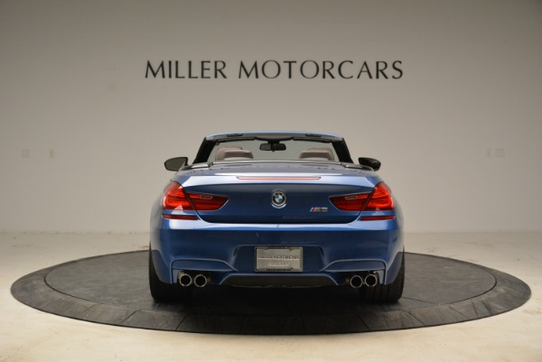 Used 2013 BMW M6 Convertible for sale Sold at Alfa Romeo of Greenwich in Greenwich CT 06830 6