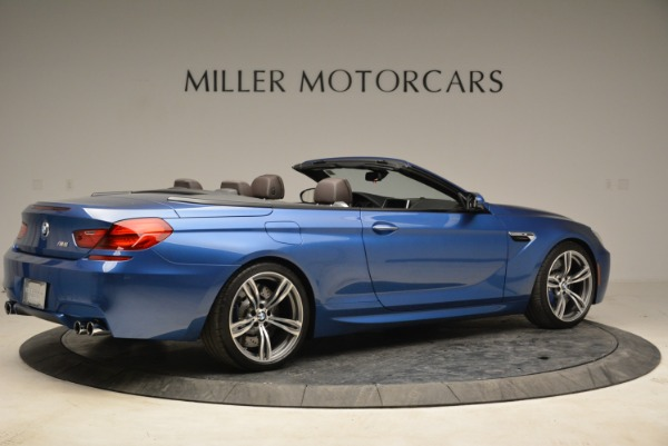 Used 2013 BMW M6 Convertible for sale Sold at Alfa Romeo of Greenwich in Greenwich CT 06830 8