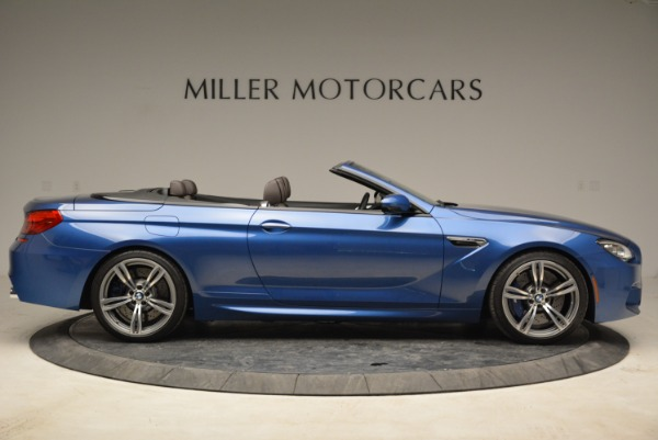 Used 2013 BMW M6 Convertible for sale Sold at Alfa Romeo of Greenwich in Greenwich CT 06830 9