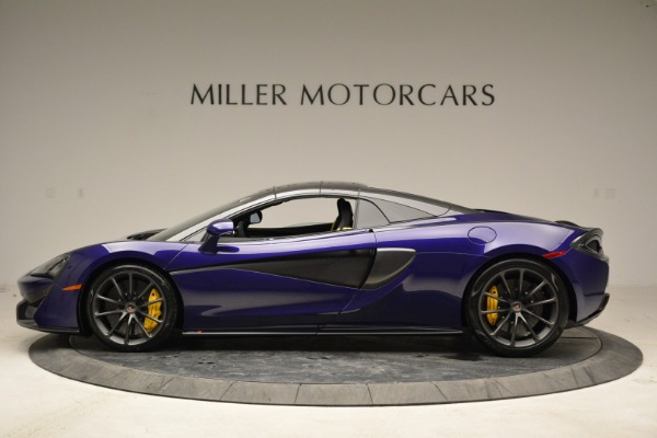 New 2018 McLaren 570S Spider for sale Sold at Alfa Romeo of Greenwich in Greenwich CT 06830 15