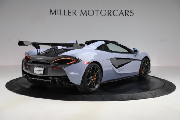 Used 2018 McLaren 570S Spider for sale Sold at Alfa Romeo of Greenwich in Greenwich CT 06830 5