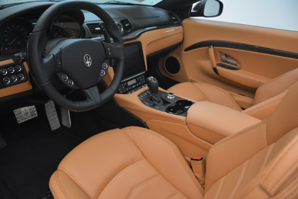 New 2018 Maserati GranTurismo MC Convertible for sale Sold at Alfa Romeo of Greenwich in Greenwich CT 06830 24