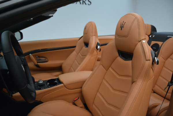 New 2018 Maserati GranTurismo MC Convertible for sale Sold at Alfa Romeo of Greenwich in Greenwich CT 06830 26