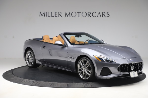 Used 2018 Maserati GranTurismo Sport Convertible for sale Sold at Alfa Romeo of Greenwich in Greenwich CT 06830 10