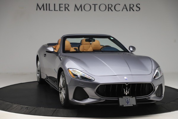 Used 2018 Maserati GranTurismo Sport Convertible for sale Sold at Alfa Romeo of Greenwich in Greenwich CT 06830 11