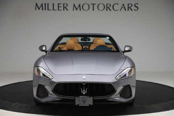 Used 2018 Maserati GranTurismo Sport Convertible for sale Sold at Alfa Romeo of Greenwich in Greenwich CT 06830 12
