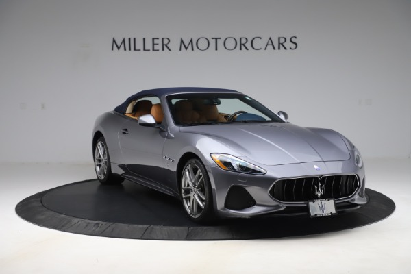 Used 2018 Maserati GranTurismo Sport Convertible for sale Sold at Alfa Romeo of Greenwich in Greenwich CT 06830 13