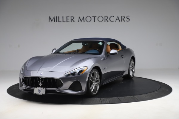 Used 2018 Maserati GranTurismo Sport Convertible for sale Sold at Alfa Romeo of Greenwich in Greenwich CT 06830 14