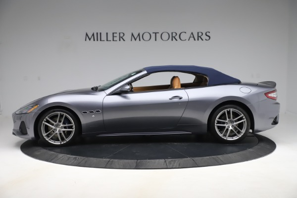 Used 2018 Maserati GranTurismo Sport Convertible for sale Sold at Alfa Romeo of Greenwich in Greenwich CT 06830 15