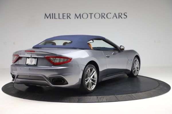 Used 2018 Maserati GranTurismo Sport Convertible for sale Sold at Alfa Romeo of Greenwich in Greenwich CT 06830 17