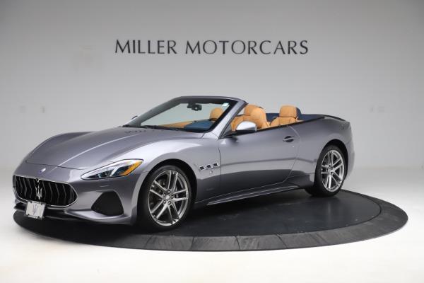 Used 2018 Maserati GranTurismo Sport Convertible for sale Sold at Alfa Romeo of Greenwich in Greenwich CT 06830 2