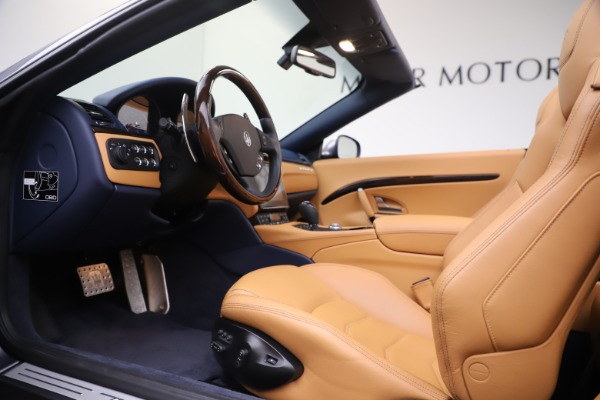 Used 2018 Maserati GranTurismo Sport Convertible for sale Sold at Alfa Romeo of Greenwich in Greenwich CT 06830 20