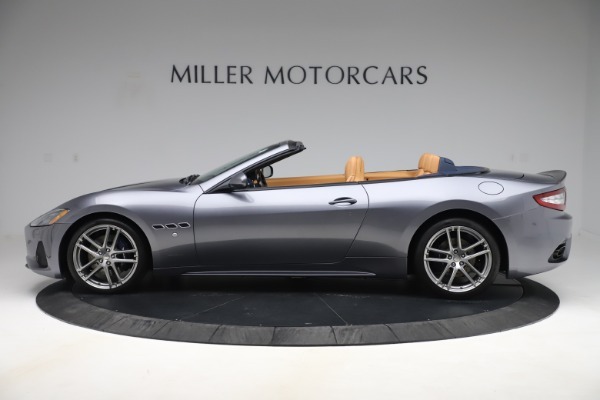Used 2018 Maserati GranTurismo Sport Convertible for sale Sold at Alfa Romeo of Greenwich in Greenwich CT 06830 3