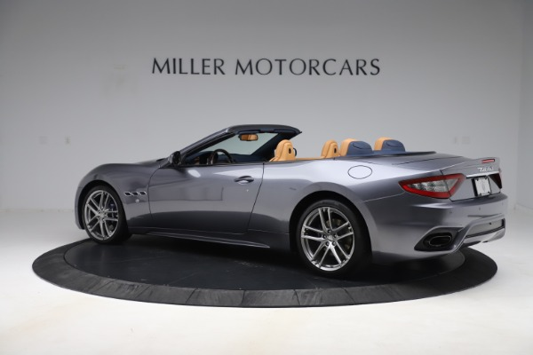 Used 2018 Maserati GranTurismo Sport Convertible for sale Sold at Alfa Romeo of Greenwich in Greenwich CT 06830 4