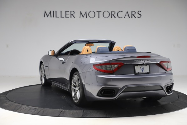 Used 2018 Maserati GranTurismo Sport Convertible for sale Sold at Alfa Romeo of Greenwich in Greenwich CT 06830 5