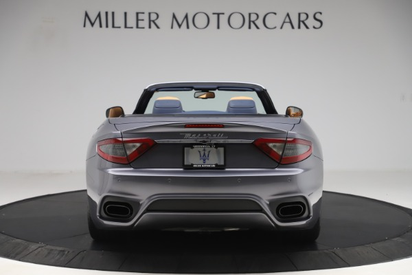 Used 2018 Maserati GranTurismo Sport Convertible for sale Sold at Alfa Romeo of Greenwich in Greenwich CT 06830 6
