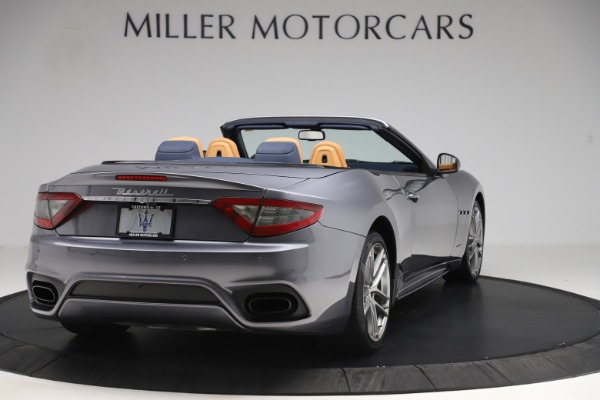 Used 2018 Maserati GranTurismo Sport Convertible for sale Sold at Alfa Romeo of Greenwich in Greenwich CT 06830 7
