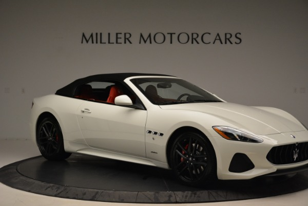 New 2018 Maserati GranTurismo Sport Convertible for sale Sold at Alfa Romeo of Greenwich in Greenwich CT 06830 11