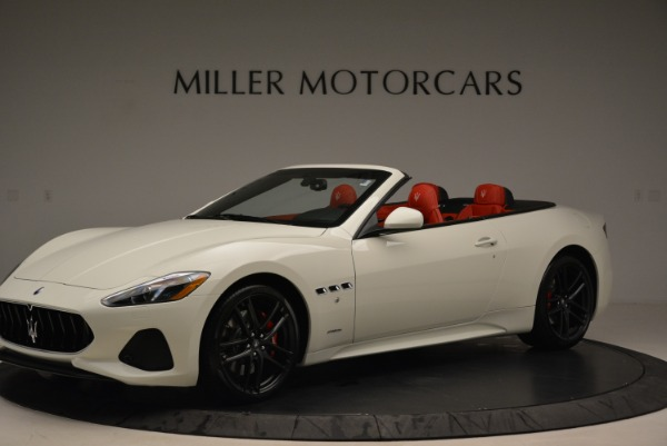 New 2018 Maserati GranTurismo Sport Convertible for sale Sold at Alfa Romeo of Greenwich in Greenwich CT 06830 14