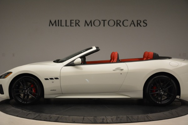 New 2018 Maserati GranTurismo Sport Convertible for sale Sold at Alfa Romeo of Greenwich in Greenwich CT 06830 15