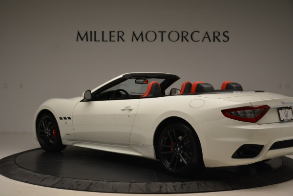 New 2018 Maserati GranTurismo Sport Convertible for sale Sold at Alfa Romeo of Greenwich in Greenwich CT 06830 16