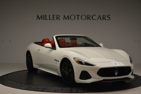 New 2018 Maserati GranTurismo Sport Convertible for sale Sold at Alfa Romeo of Greenwich in Greenwich CT 06830 23