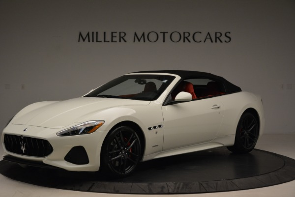 New 2018 Maserati GranTurismo Sport Convertible for sale Sold at Alfa Romeo of Greenwich in Greenwich CT 06830 3